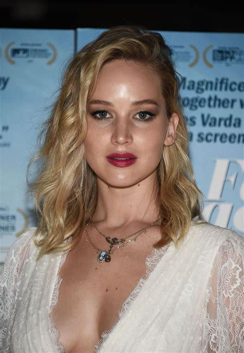 Jennifer Lawrence Faces Places Premiere In West Hollywood