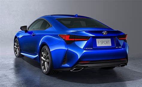 lexus rc update revealed  paris show debut
