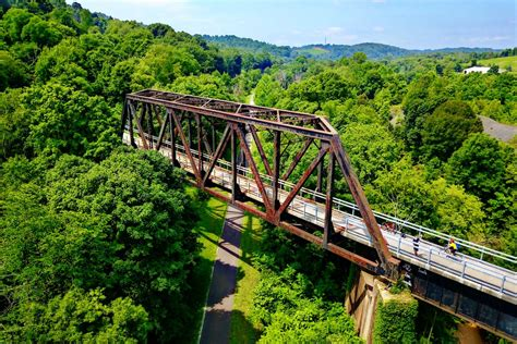 Route and Map   Great American Rail-Trail   Rails-to ...