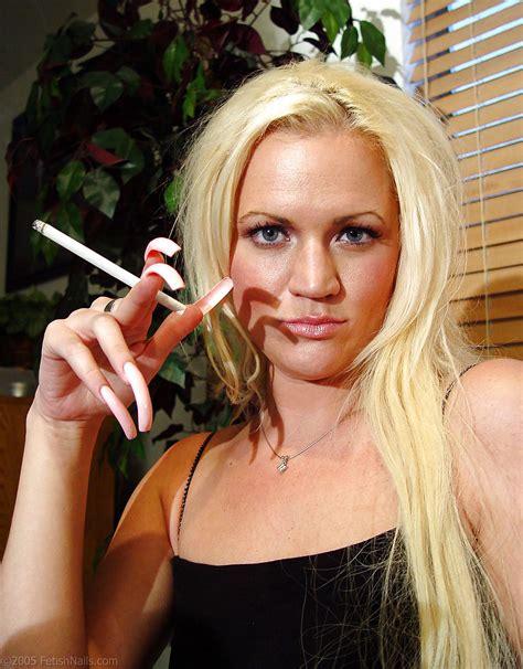 Long Nails Teasing Handjob
