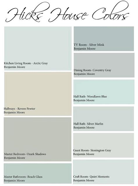 joanna gaines paint colors used fixer matched to sherwin