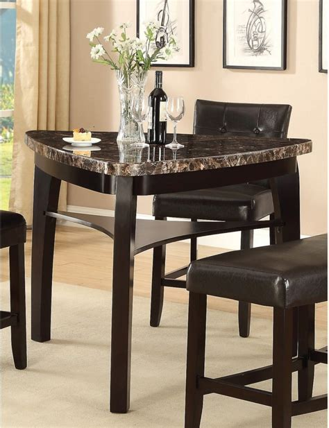 Furniture. Contemporary Triangular Dining Room Table With