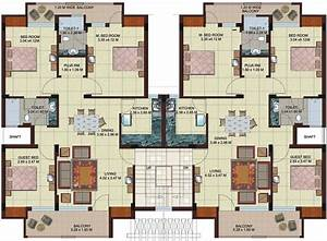 Multi Unit 2 Bedroom Condo Plans