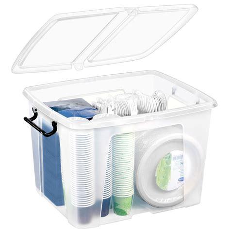 boite rangement plastique cep strata boite de rangement plastique 40 litres bo 238 te de rangement cep sur ldlc