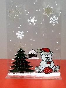 Decoration De Noel Pour Fenetre A Faire Soi Meme : deco noel vitre faire soi meme visuel 4 ~ Melissatoandfro.com Idées de Décoration