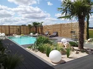 jardin mediterraneen dijon design paysage With mobilier de piscine design 1 exotique paysage