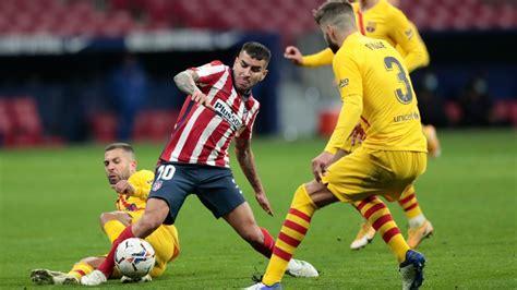 Atlético Madrid vs. Barcelona - Reporte del Partido - 21 ...