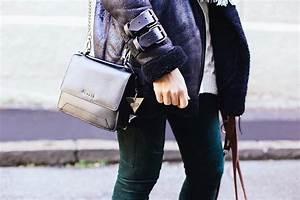 Schwarze Tasche H M : winteroutfit mit shearling bikerjacke von pepe jeans und guess tasche ~ Watch28wear.com Haus und Dekorationen