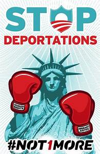 Lady Liberty Stop Deportations – Cesar Maxit | #Not1More ...