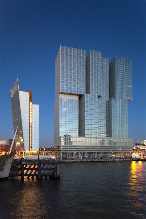 Modern Architecture Rotterdam Netherlands