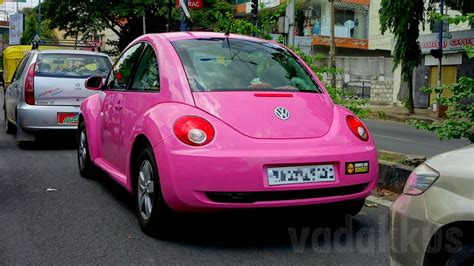 pink volkswagen beetle a pink volkswagen beetle in bangalore fottams