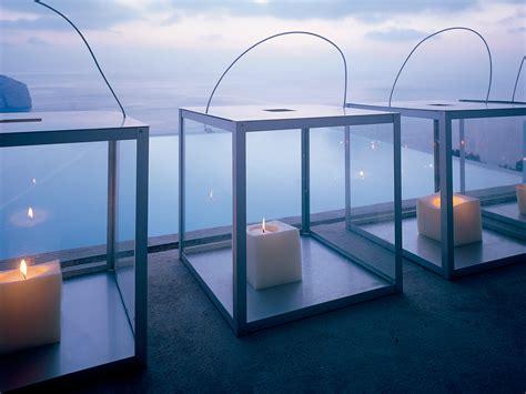 cuadrado outdoor candle box gandiablasco