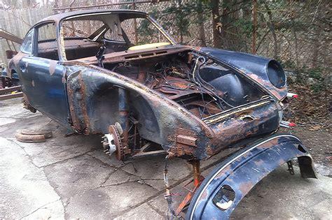 Barnfinding Early Porsche 911 Parts Car Porsche Club