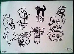 tattoo flash - TramecourtJakub