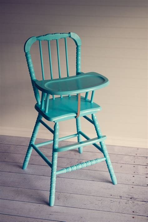17 best ideas about painted high chairs on