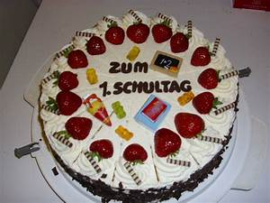 Torte Für Einschulung : meine torten fotoalbum kochen rezepte bei chefkoch de ~ Frokenaadalensverden.com Haus und Dekorationen