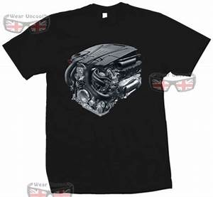 Mercedes V8 Engine Diagram T Shirt Cool Casual Pride T