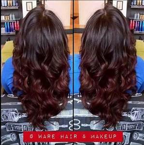 Ombré Hair Auburn : dark auburn ombre this is almost exactly what i want hair pinterest dark auburn ombre ~ Dode.kayakingforconservation.com Idées de Décoration