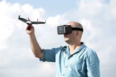 powerup  paper airplane drone  give  real time virtual reality flight experience