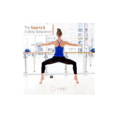Barre3 Step Sequence Bar Barre Method Workout