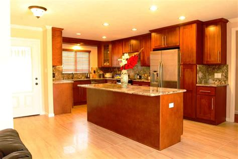 paint colors for kitchens with light cherry cabinets