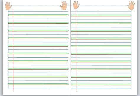 des lignes en couleur pour les cp herbe terre ciel ecriture