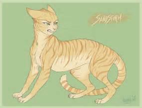 warrior cat drawings warrior cats sandstorm by vanycat on deviantart