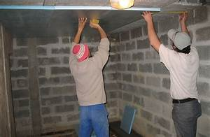 Isoler Plafond Sous Sol : comment isoler son garage ~ Nature-et-papiers.com Idées de Décoration