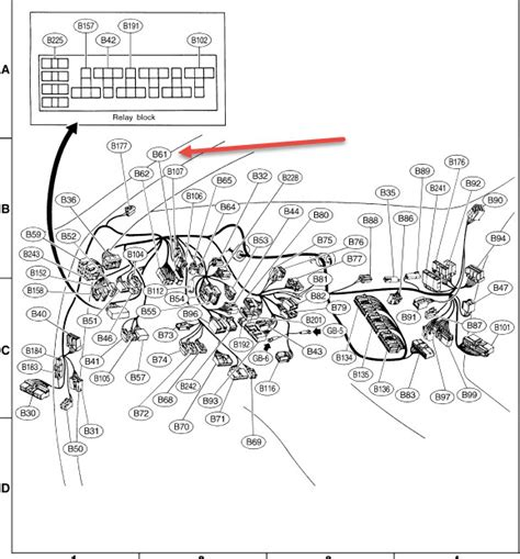 2005 Subaru Outback Wiring Harnes by Need 2001 Outback Wiring Diagram Sbf4 Ckt Page 2