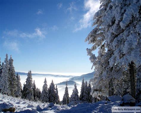beautiful winter scenery wallpaper wallpapersafari