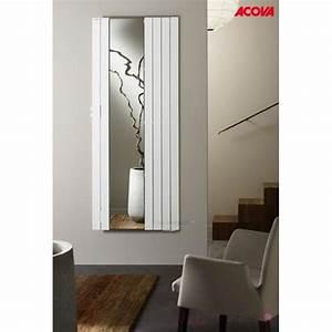 Radiateur Electrique 1000w : radiateur lectrique acova fassane miroir premium 1000w ~ Melissatoandfro.com Idées de Décoration