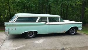 Highly Valued Ranch  1959 Ford Wagon