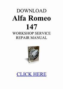 Alfa Romeo 147 2 0 Ts Manual