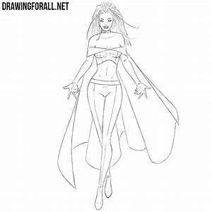 How To Draw Emma Frost