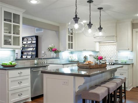 remodeled kitchens with islands before and after kitchen photos from hgtv 39 s fixer