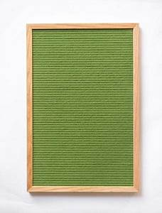 12quot x 18quot vintage green felt letter board limited edition With antique letter board