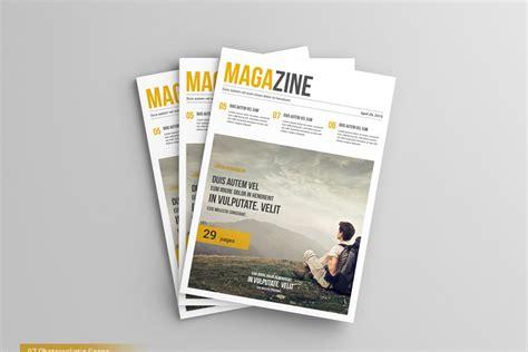 Magazine Mockup A4 Magazine Mock Ups