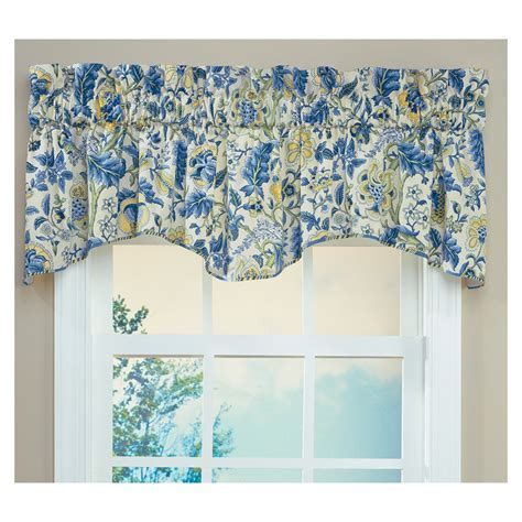 Waverly Home Classics 18 in Porcelain Cotton Rod Pocket