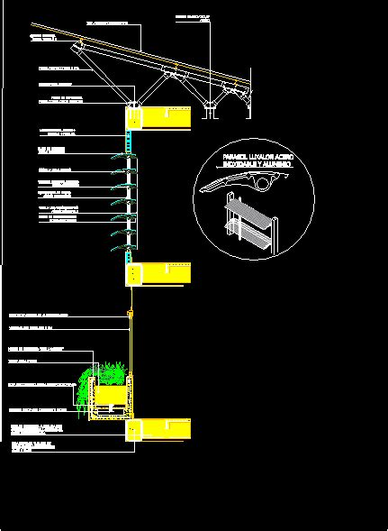 awning louvered window shades  planter box dwg plan  autocad designs cad