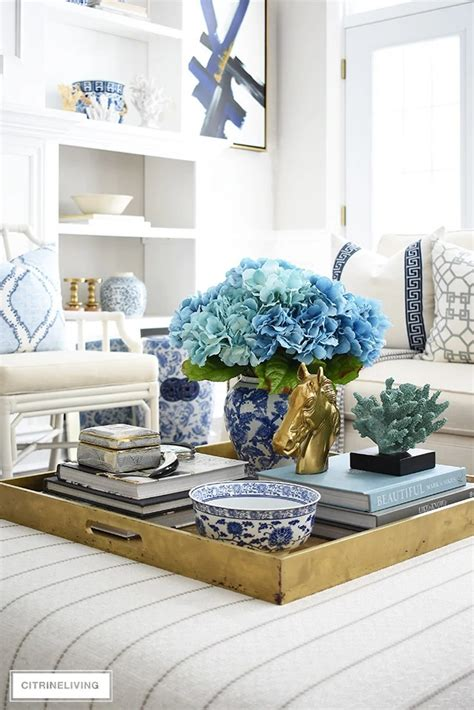 Boracay coffee table trunk this amazing coffee table is not only super stylish, but also very, very functional! Coffee Table Decor Ideas for a Cozy Living Room - Salvaged Living