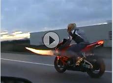 Motorrad Raketen Basis Brüller für Silvester Unglaublich