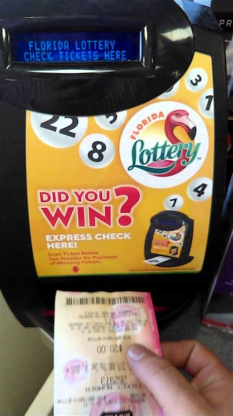 scan lottery tickets at home scan winning lottery ticket jackpot