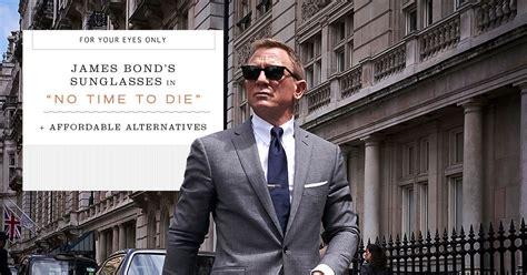 Budget Alternatives for James Bond's New Sunglasses in