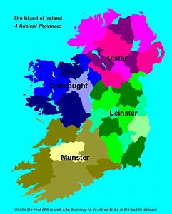 Counties and Provinces of Ireland