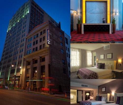hotels power and light ambassador hotel downtown power light kansas city mo