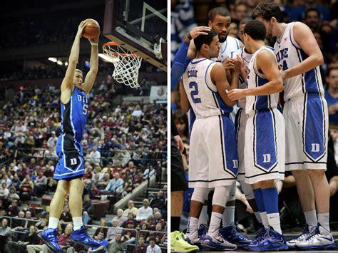 video duke basketballs  nike sneaker lineup sole
