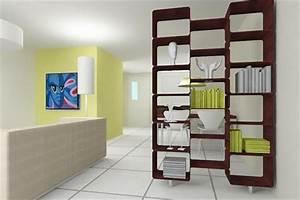 Raumteiler Mit Rückwand : moderne ideen zur optischen trennung durch regal raumteiler ~ Sanjose-hotels-ca.com Haus und Dekorationen