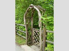 DIY Garden Ideas Garden Arch and Bench Ideas for an