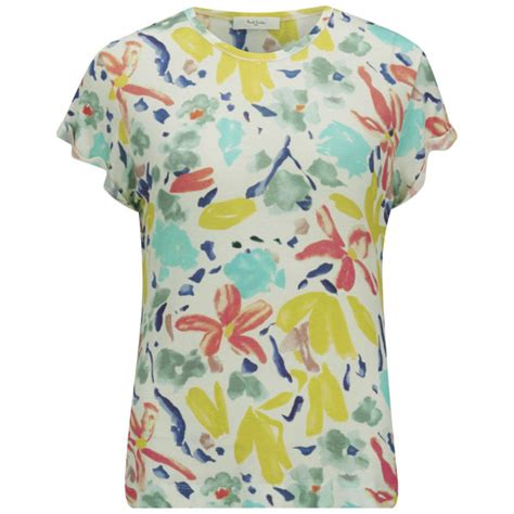 paul by paul smith s floral t shirt multi free uk delivery 163 50