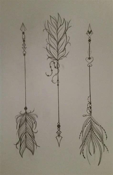 feather arrow tattoo ideas  pinterest